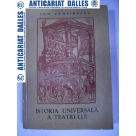 Istoria universala a teatrului -Ion Zamfirescu -vol.2