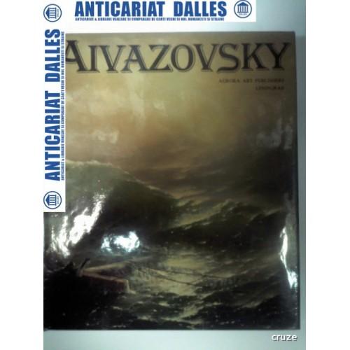 Album AIVAZOVSKY -Aurora Art Publishers Leningrad 1983 -format mare