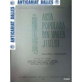 ARTA POPULARA DIN VALEA JIULUI (Regiunea HUNEDOARA)