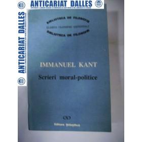 Scrieri moral-politice  - Immanuel  KANT
