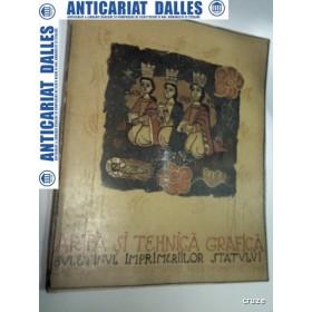 ARTA SI TEHNICA GRAFICA -CAIETUL 10 -dec.1939-martie 1940