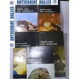 ISTORIA  ARTEI  -5 volume -ELIE  FAURE