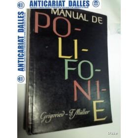 MANUAL DE POLIFONIE - S.GRIGORIEV / T. MULLER