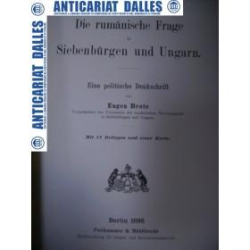 Die rumanische Frage in Siebenburgen und Ungarn - Eugen Brote -1895