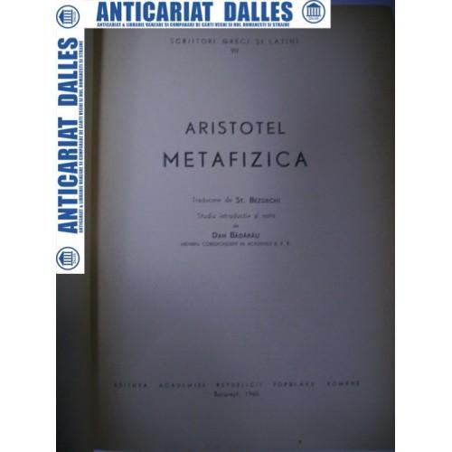ARISTOTEL  - METAFIZICA (editia Academiei 1965)