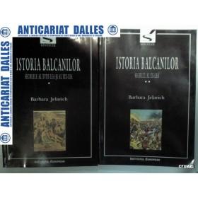 ISTORIA BALCANILOR - 2 volume -Barbara Jelavich
