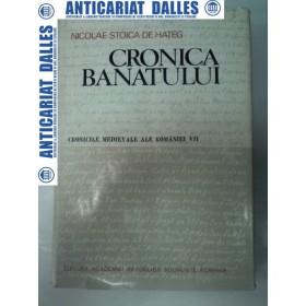 CRONICA BANATULUI -Nicolae Stoica De Hateg