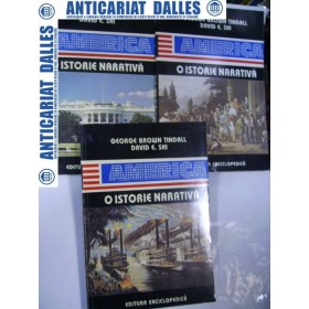 AMERICA- O ISTORIE NARATIVA - 3 volume - George Brown Tindall/David E.Shi