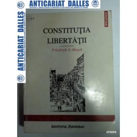 CONSTITUTIA LIBERTATII -FRIEDRICH A. HAYEK