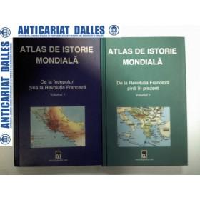 ATLAS DE ISTORIE MONDIALA - 2 volume-Hermann Kinder / Werner Hilgemann
