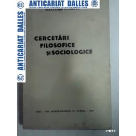 CERCETARI FILOSOFICE SI SOCIOLOGICE -ALEXANDRU CLAUDIAN -1935 -(cu dedicatie)