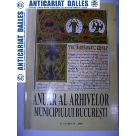 Anuar al arhivelor Municipiului Bucuresti 1998