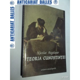 TEORIA CUNOSTINTEI  -NICOLAE BAGDASAR -1995