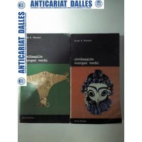 CIVILIZATIILE  EUROPEI  VECHI - Guido A. Mansuelli -2 volume
