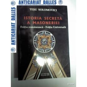 ISTORIA SECRETA A MASONERIEI -TESU SOLOMOVICI