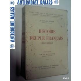 HISTOIRE DU PEUPLE FRANCAIS - NICOLAE IORGA