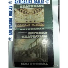 ISTORIA TEATRULUI UNIVERSAL - 2 VOLUME -ILEANA BERLOGEA