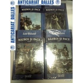 RAZBOI SI PACE - LEV TOLSTOI - 4 VOLUME - Biblioteca Adevarul