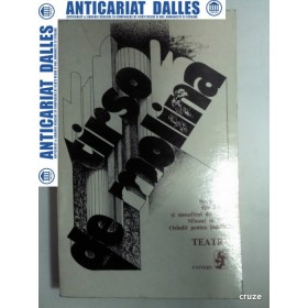 TIRSO DE MOLINA - TEATRU -Editura Univers 1975