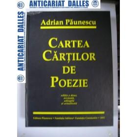CARTEA CARTILOR DE POEZIE -Adrian PAUNESCU