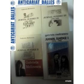 JURNAL SUEDEZ - GABRIELA MELINESCU - 4 volume