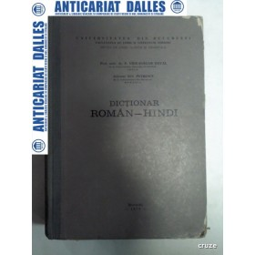 DICTIONAR ROMAN-HINDI - P.VIDYASAGAR DAYAL