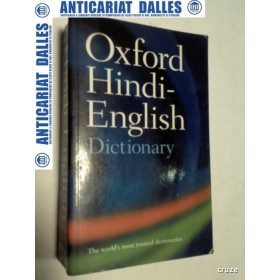 OXFORD HINDI-ENGLISH DICTIONARY ( dictionar hindi-englez)