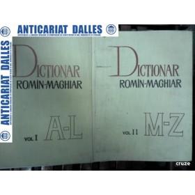 DICTIONAR ROMAN -MAGHIAR -2 volume -Editura Academiei RPR 1967