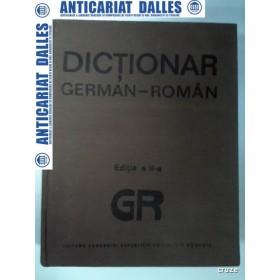 DICTIONAR GERMAN - ROMAN -editia ACADEMIEI 1989 ( 140000 de cuvinte)