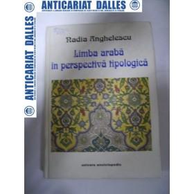Limba araba in perspectiva tipologica -Nadia Anghelescu