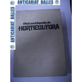 Mica enciclopedie de horticultura
