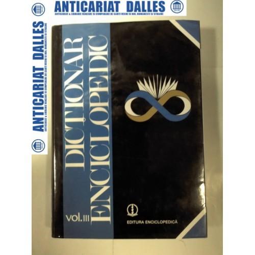 DICTIONAR ENCICLOPEDIC - volumul 3 - H /K