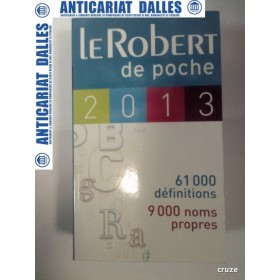 LE ROBERT - de poche - 2013