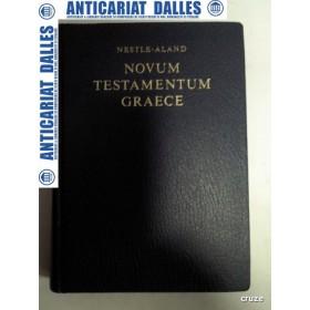 NOVUM TESTAMENTUM GRAECE  - (NOUL TESTAMENT ) - in limba greaca
