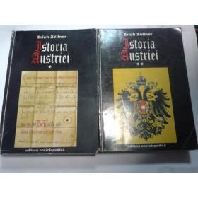 ISTORIA AUSTRIEI -ERICH ZOLLNER - 2 volume