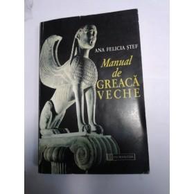 MANUAL DE GREACA VECHE -Ana Felicia Stef