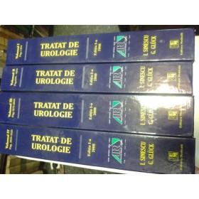 TRATAT DE UROLOGIE - I.SINESCU,G.GLUCK- 4 VOLUME