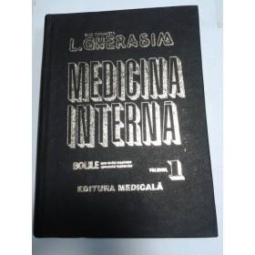 MEDICINA INTERNA - GHERASIM -volumul 1