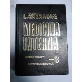 MEDICINA INTERNA - GHERASIM -volumul 3