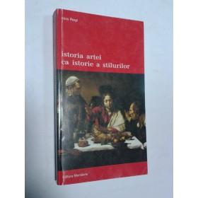 ISTORIA ARTEI CA ISTORIE A STILURILOR -ALOIS RIEGL