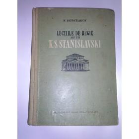 Lectiile de regie ale lui K.S.Stanislavski
