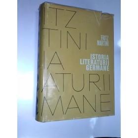 ISTORIA LITERATURII GERMANE - FRITZ MARTINI