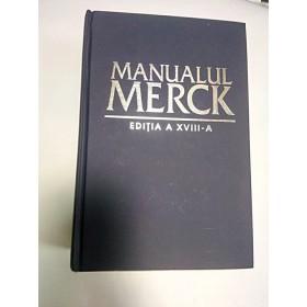 MANUALUL MERCK - editia a XVIII a