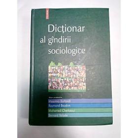 DICTIONAR AL GANDIRII SOCIOLOGICE- MASSIMO BORLANDI