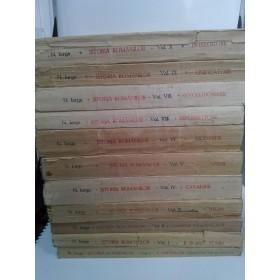 ISTORIA ROMANILOR - N.IORGA -10 volume