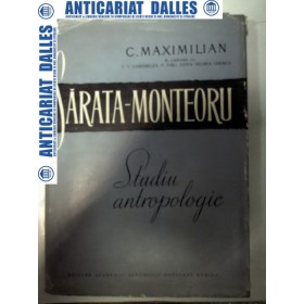 SARATA -MONTEORU -Studiu antropologic -C.Maximilian