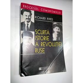 SCURTA ISTORIE A REVOLUTIEI RUSE -Richard Pipes