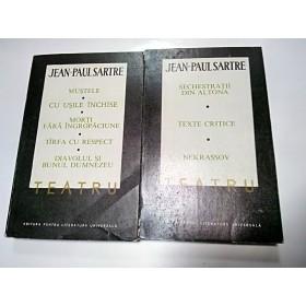 JEAN PAUL SARTRE - TEATRU
