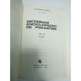 DICTIONAR ENCICLOPEDIC DE PSIHIATRIE -Constantin GORGOS