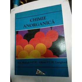 CHIMIE ANORGANICA - ATKINS